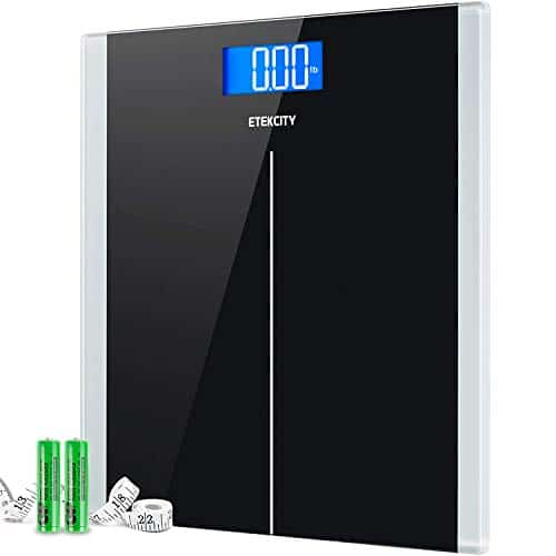 Etekcity Body Weight Digital Bathroom Scale Step-On Technology