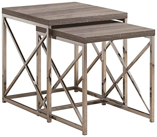 Monarch Specialties Nesting Table Two Piece Set