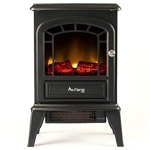 e-Flame USA Aspen Freestanding Electric Fireplace Stove