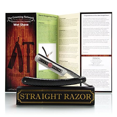 Gold Dollar Shave Ready Straight Razor