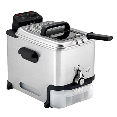 T-Fal FR8000 Stainless Steel Deep Fryer with Basket