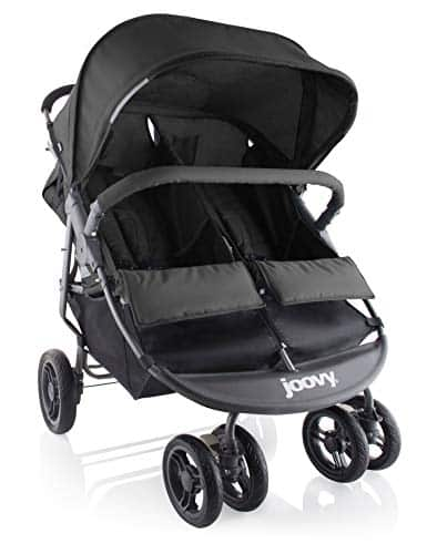 Joovy Scooter X2 Double Stroller Fold, Huge Basket and Canopy