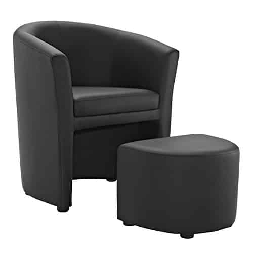 Modway Divulge Faux Leather Armchair