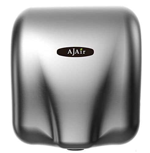 AjAir Heavy Duty Commercial 1800 Watts Automatic Hot Hand Dryer