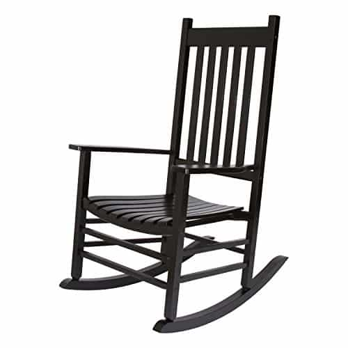 Shine Company 4332BK Vermont Rocking Chair