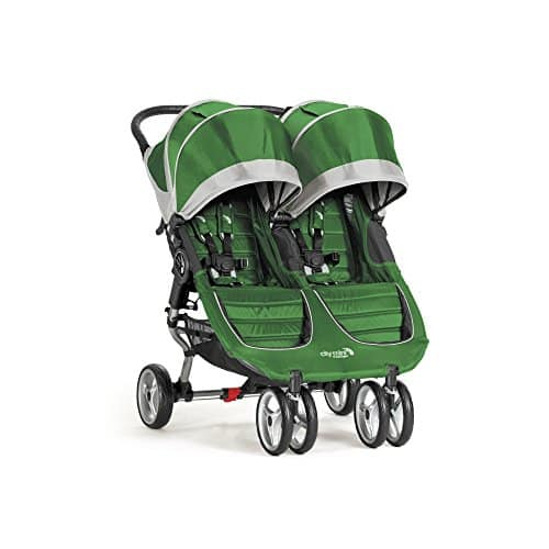 Baby Jogger City Mini Double Stroller, Evergreen
