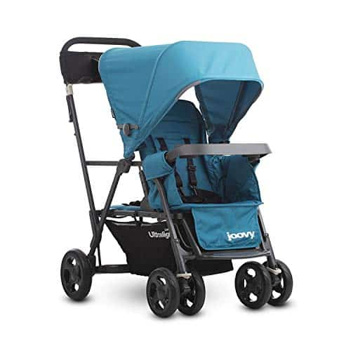 Joovy Caboose Ultralight Graphite Stroller Double Stroller
