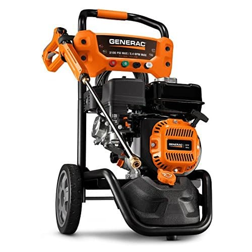 Generac 7019 OneWash 3,100 PSI, 2.4 GPM, Gas Powered Pressure