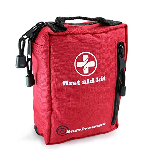 Surviveware Small Kit Backpacking First Aid Camping Hiking Wilderness