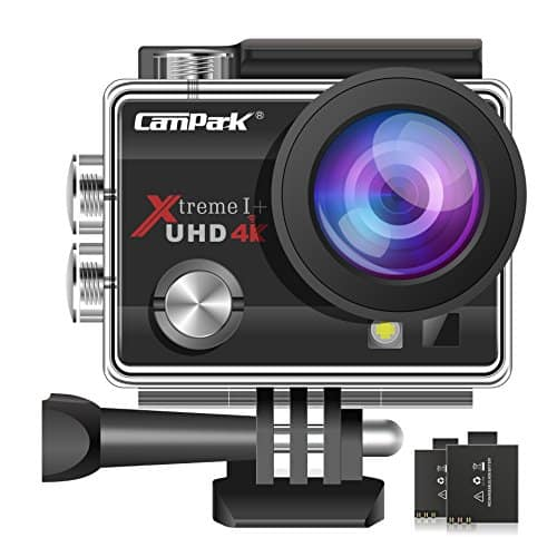 CAMPARK ACT74 Action Camera with Waterproof Design