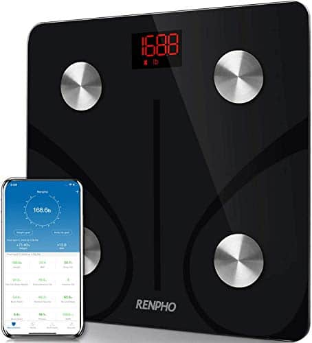 RENPHO Bluetooth Scale Smart Body Fat BMI Scale Bathroom Wireless