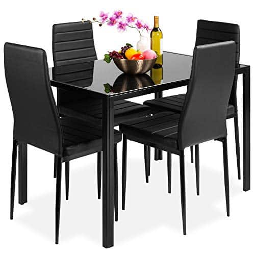 Best Choice Kitchen Dining Table with Four Chairs