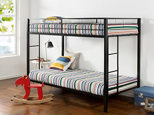 Zinus Aileene Quick Lock Easy Assembly Classic Twin Metal Bed