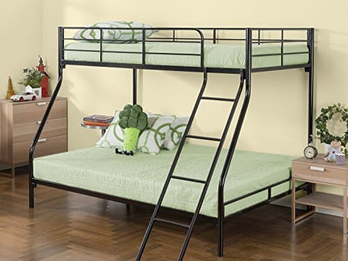 Zinus Easy Assembly Lock Metal Quick Assemble Bunk Bed
