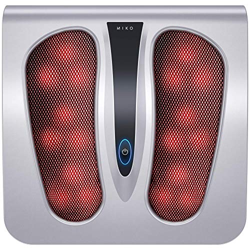 Miko Foot Massager Machine with Heat, Shiatsu