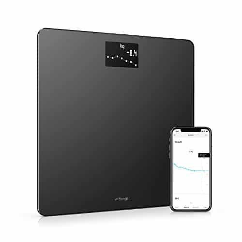 Withings Weight and BMI Body Smart Digital Scale Wi-Fi smartphone app