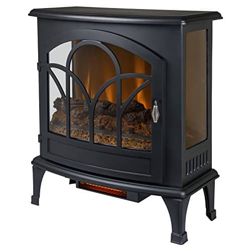 MUSKOKA Curved Infrared Panoramic Electric Stove