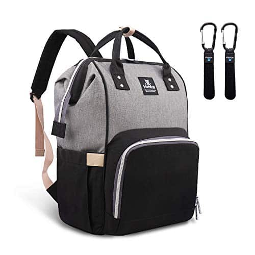 Hafmall Diaper Bag Backpack - Waterproof Multifunctional Large Travel Nappy Bag
