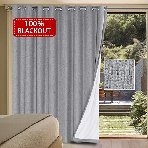 H. VERSAILTEX 100% Blackout Sliding Blinds