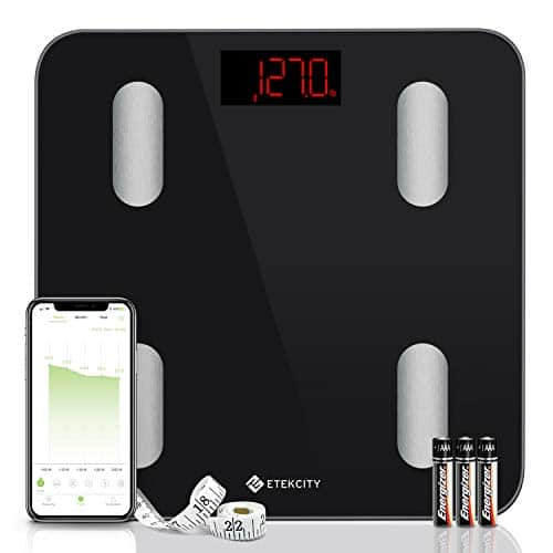 Etekcity Weight Scale Digital Smart Bluetooth Scale Bathroom Body Fat Scale 13 Compositions