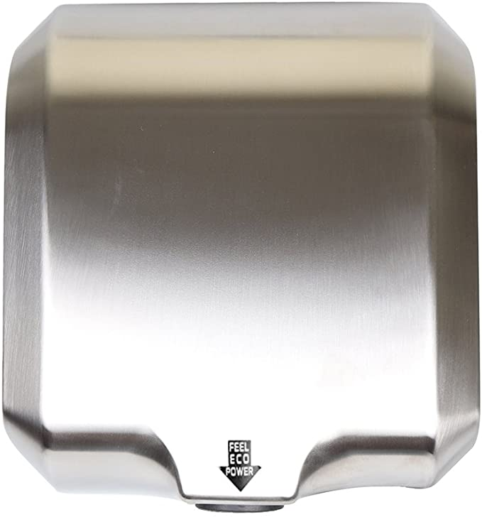 Goetland Stainless-Steel Hand Dryer Commercial 1800w High-Speed Dull Polished