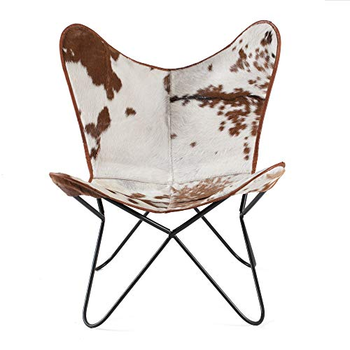 Madeleine Home Montreux Iron BKF Butterfly Chairs