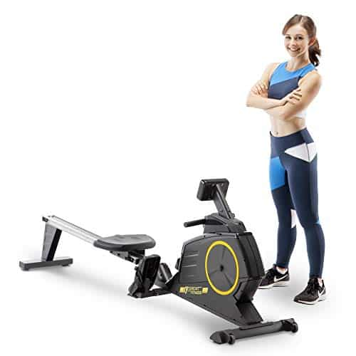 Circuit Fitness AMZ-986RW Deluxe Foldable Rowing Machine