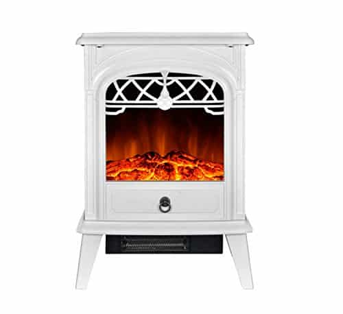 GMHOME 1500W Cute Heater Small Electric Fireplaces