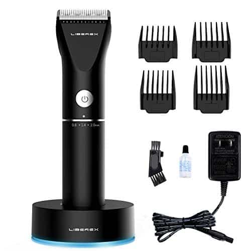 Liberex Cordless Electric Hair Clippers - Professional Rechargeable Hair Cutting Machine