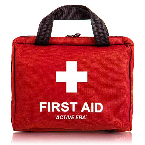 90 Pieces All-Purpose Premium Medical First Aid Kits Supplies Soft Case Home and Office