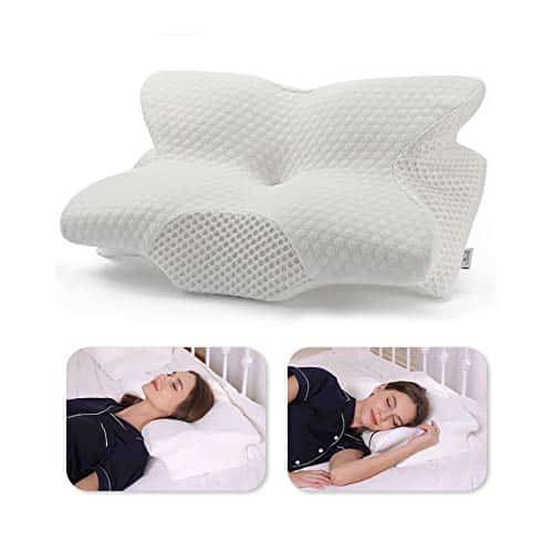 Coisum Back Sleeper Cervical Pillow - Memory Foam Pillow