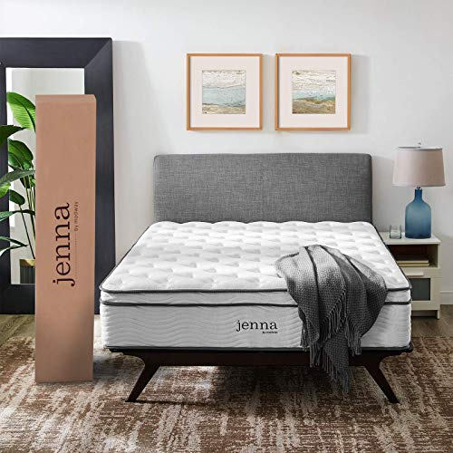 MODWAY Jenna Quilted Pillow Top Queen Innerspring Mattress