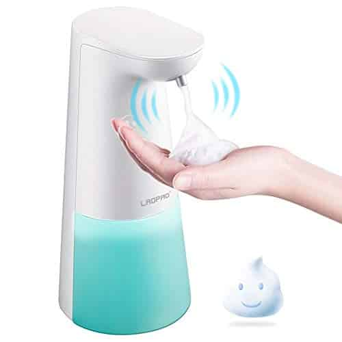 LAOPAO, Touchless Foaming Hand Free Soap Dispenser Countertop Soap