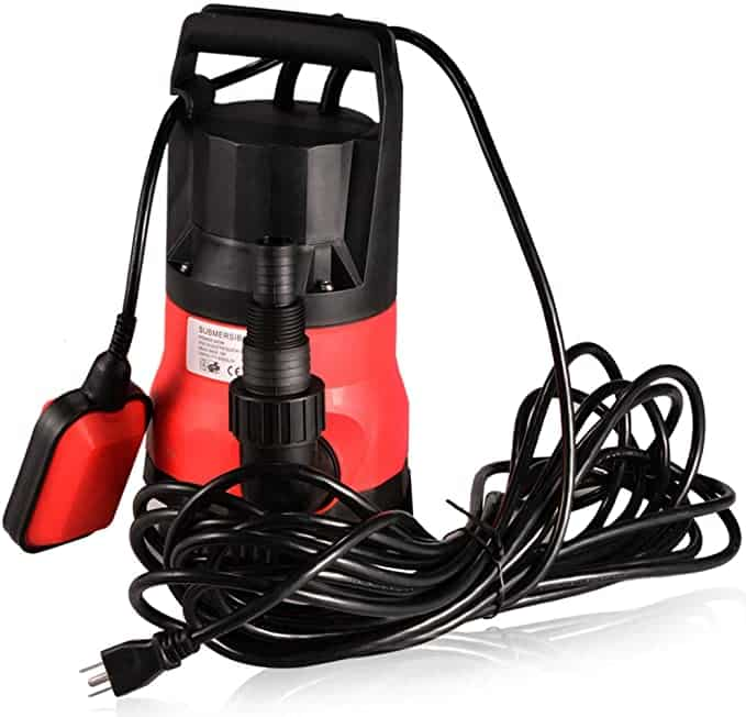 ACESHIN Submersible Sump Pump with Float Switch