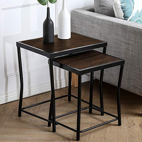 HOMOOI Nesting Tables Set of Two