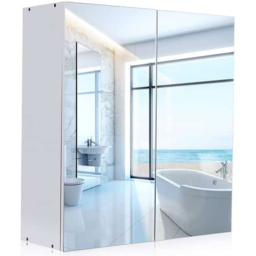 Best Mirrored Bathroom Wall Cabinets