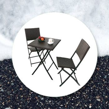 Outdoor Tables with Chairs