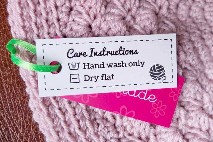 blanket care instructions