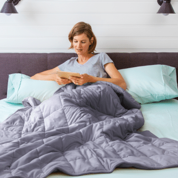 how to wash and dry weighted blanket